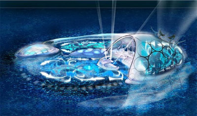 Hydropolis visual development