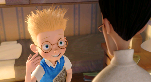 Still image from the Disney computer animated feature film Meet the Robinsons