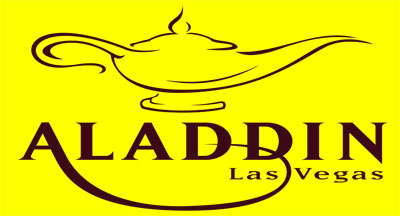 Logo of Aladdin Hotel and Casino in Las Vegas