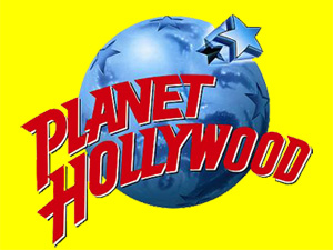 Logo of Planet Hollywood