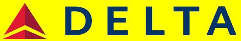 Illustration of new Delta logo