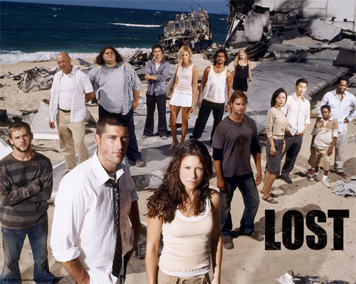 Photo of a the season one Lost cast