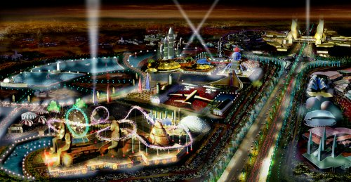 Dubailand visual development
