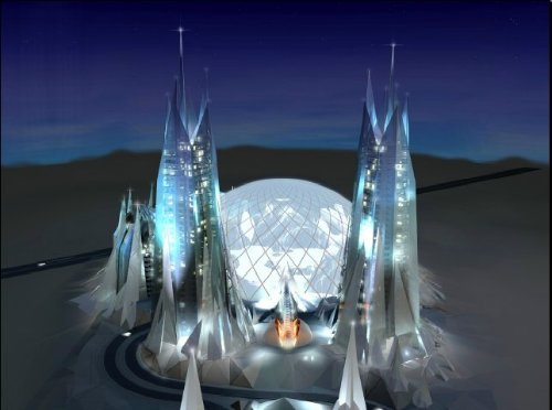 Dubailand Snowdome visual development