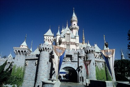 Disneyland's Sleeping Beauty's Castle Photo, from wikipedia
