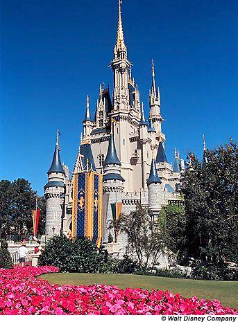 Cinderella Castle at Walt Diseny World, from wikipedia