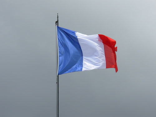 Photo of a French Flag