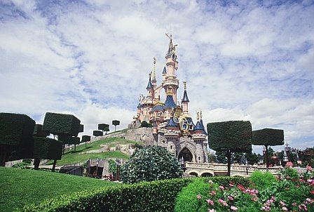 Sleeping Beauty's Castle at Disneyland Resort Paris
