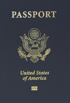 USA Electronic Passport Photo