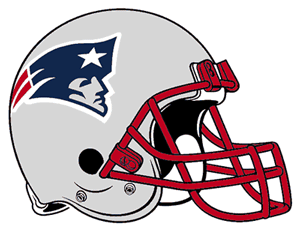 New England Patriots helmet illustration