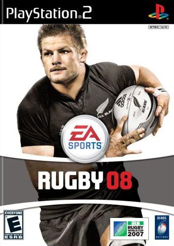 EA Rugby 08 box