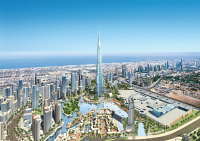 Downtown Burj Dubai Concept Artwork