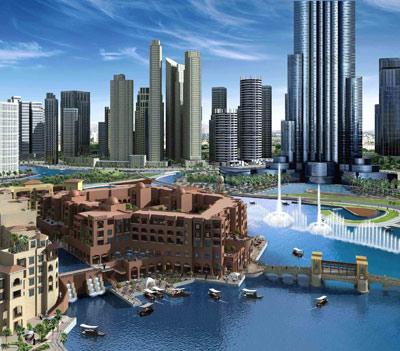 Souk Al Bahar Concept Artwork