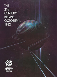EPCOT Center opening poster