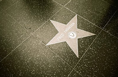 Fred Thomson's star on the Walk of Fame
