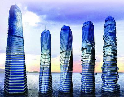 Dubai's Rotating Tower