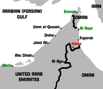 Map of Hatta