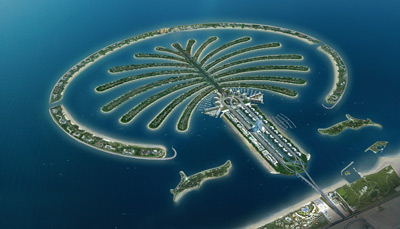 Palm Jumeirah artwork