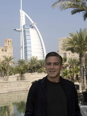 Clooney in Dubai