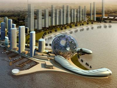 Dubai Promenade artwork