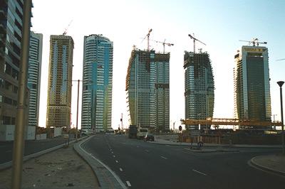 Dubai Construction on Sheikh Zayed Road