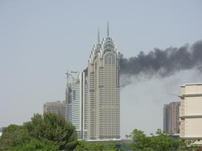 Dubai Media City Fire