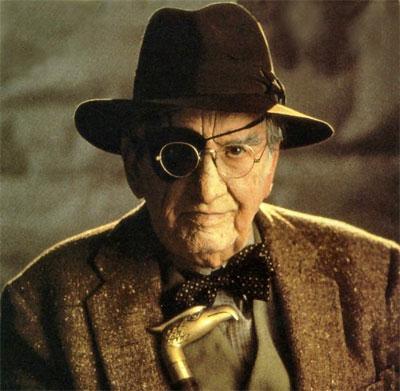 George Hall as Indiana Jones