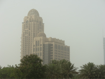 Dust in Dubai
