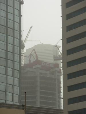 Dust in Dubai