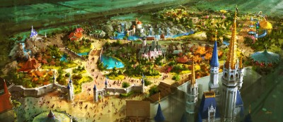 Fantasyland visual development