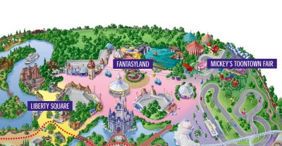 Fantastyland map
