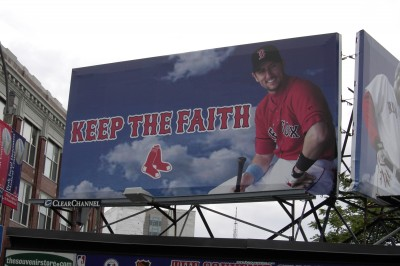 "August 01, 2004. The day after Nomar Garciaparra was traded to the Cubs. Ironic, eh? ""Keep the Faith""."